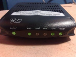 Virgin Router