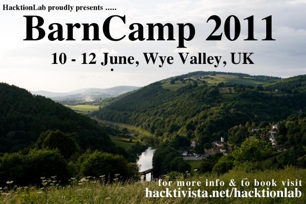 BarnCamp 2011 flyer