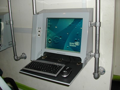 Image of a public access terminal at Easton Community Centre