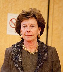 Neelie Kroes - picture courtesy of Wikimedia Commons