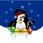 A festive Tux