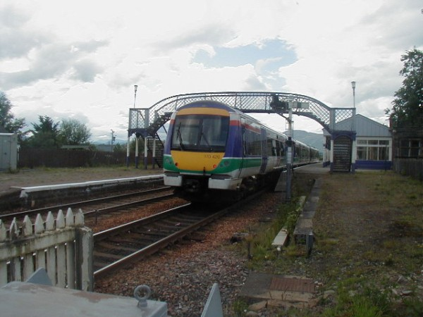 Class 170 in Scotrail livery