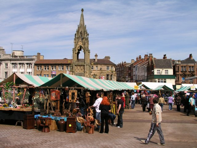 image of Mansfield marketplace