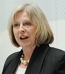 image of Home Secretary Theresa May