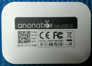 image of anonabox's label
