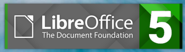 LibreOffice 5 banner
