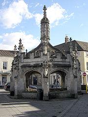 Malmesbury's market cross