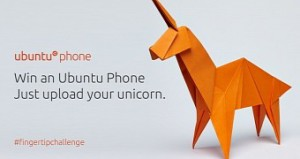 publicity for Ubuntu Unicorn competition