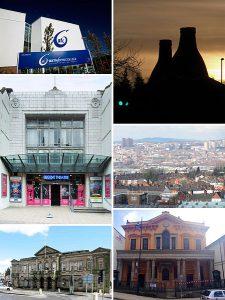 Stoke-on-Trent photo montage