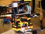 Lego-stylee panning camera