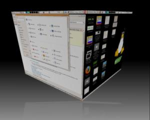Trinity 3D desktop