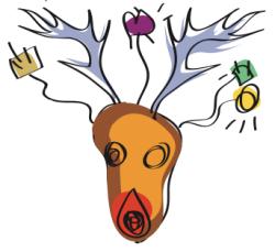 December Dorkbot logo
