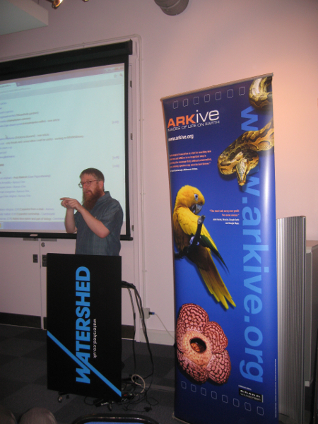 Andy Mabbett introduces Wikipedia editing