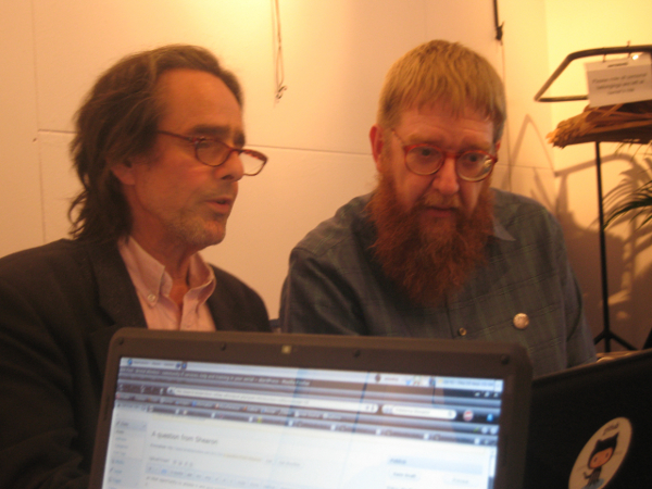 Jim gets some editing assistance from Andy Mabbett