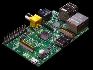 image of Raspberry Pi board