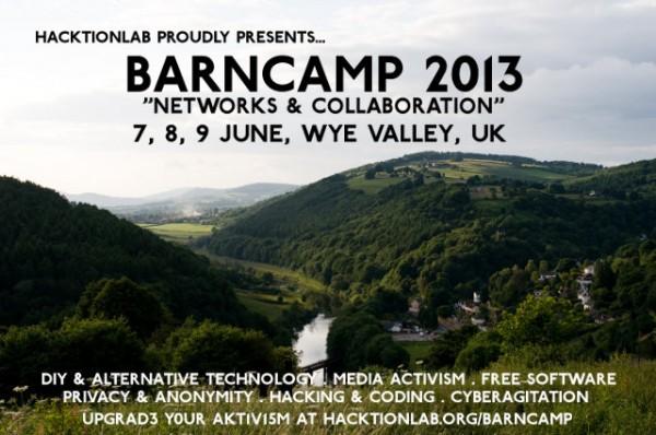 Barncamp 2013 flyer
