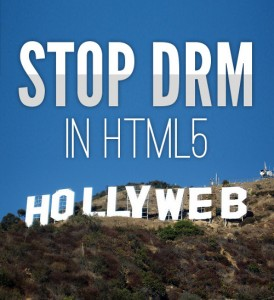 image with caption Stop DRM in HTML5