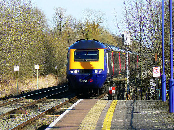 image of HST in FGW livery