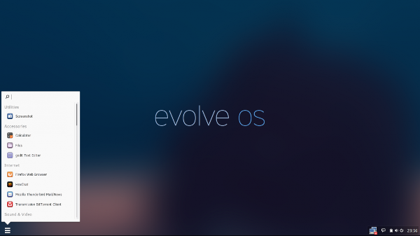 Evolve OS screenshot
