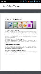 LibreOffice Viewer screenshot