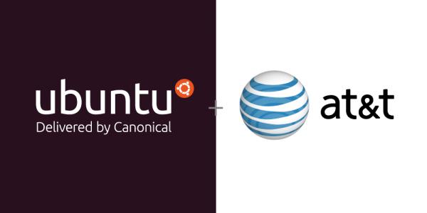 AT&T and Ubuntu logos