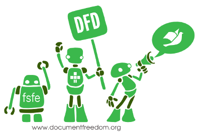 Document Freedom Day robots