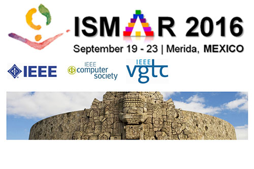 IEEE ISMAR conference graphic