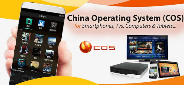 China OS publicity graphic