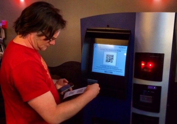 a Bitcoin ATM similar to the one in Bristol