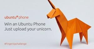 publicity for Ubuntu Unicorn competition