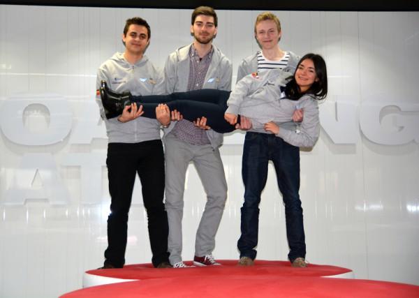 photo of Bristol University's FarmIQ creators