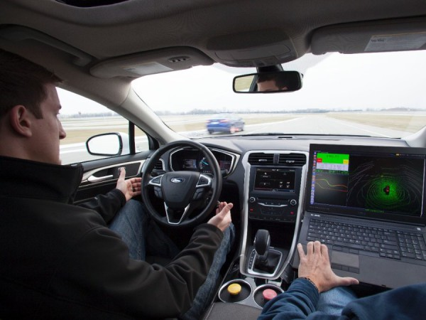 image of driverless car powered by Ubuntu