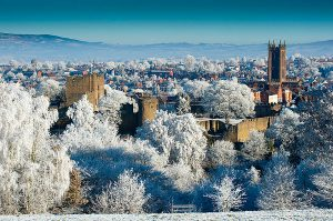 Ludlow looking frosty